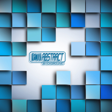 concept background with squares vector
