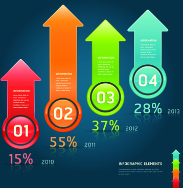 concept business infographics vector