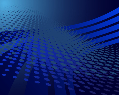 concept dark blue technical vector background