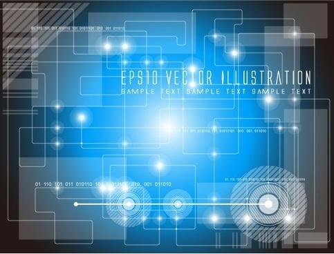 concept fantasy background vector graphic