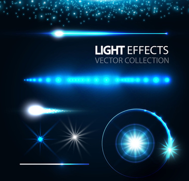 concept light effects vector graphics