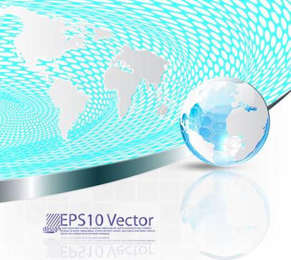 concept map elements vector background art
