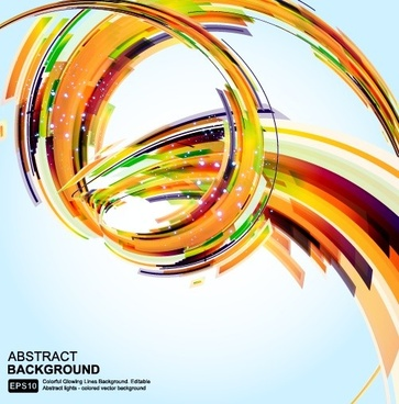 concept of abstract vector background art