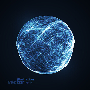concept sphere creative vector illustration