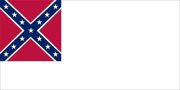 Confederate National Flag Since Mai To Mar clip art