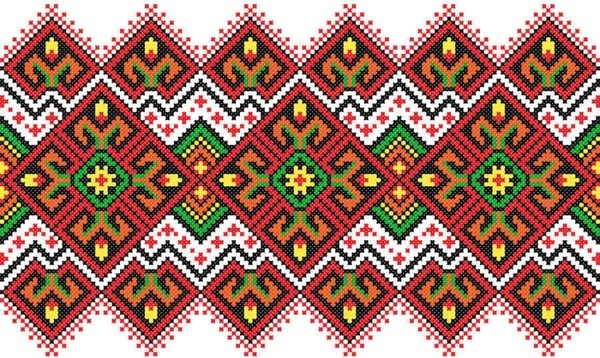 consecutive knitting patterns vector background002
