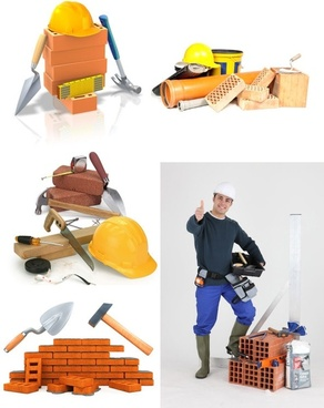construction site elements highdefinition picture