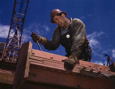 construction workers construction work mechanic