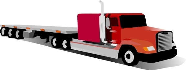 Container Truck clip art