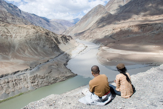 contemplating the zanskar