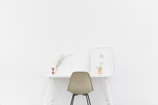 contemporary decoration design elegant empty