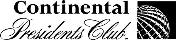continental presidents club