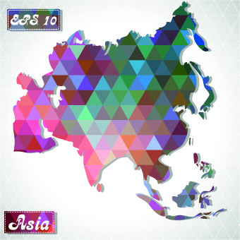 Map Of Asia Vector.Asia Continent Map Vector Free Vector Download 3 300 Free Vector