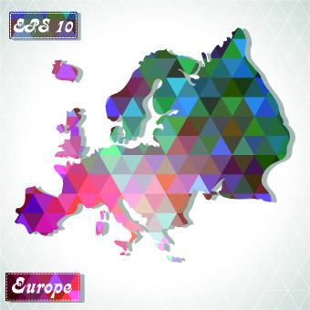 continents map design vector