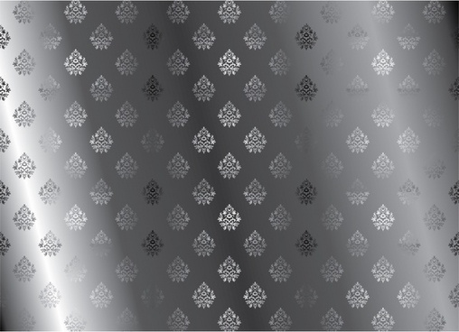 continuous pattern vector black and white two parties
