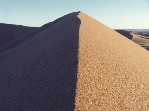 contrast desert dry dune rural sand