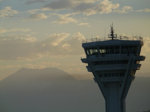 control tower tower airport