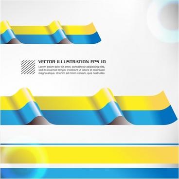 convex fashion color stripe confetti vector