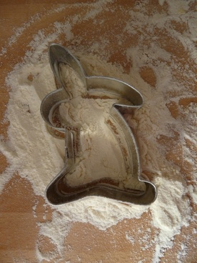cookie cutter ausstecherle easter bunny