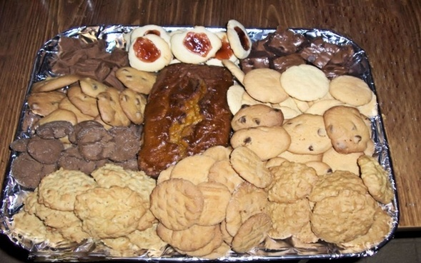 cookie tray assortment