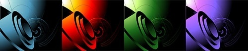 cool 3d element vector background