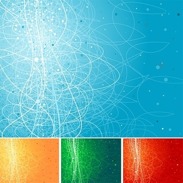 cool background design elements vector