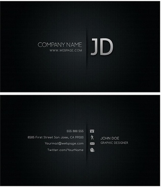 cool business card templates psd layered