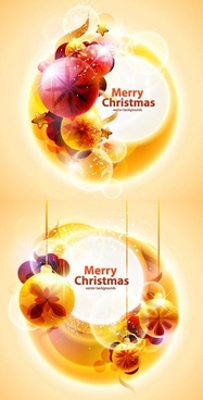 cool christmas symphony of light vector background 2