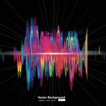 music vibrant background modern colorful dynamic design