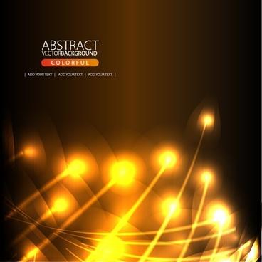 decorative background modern sparkling light motion