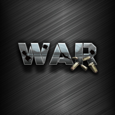 cool war simple fonts