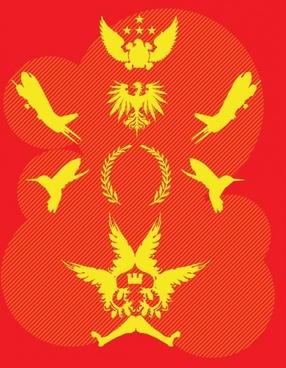 Cool Wings Heraldry