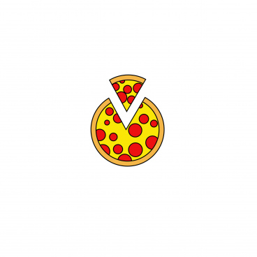 coolest victor pizza icon