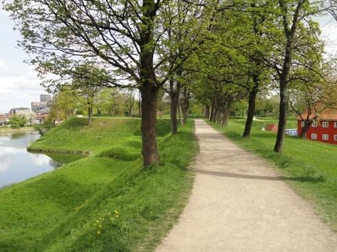 copenhagen denmark path