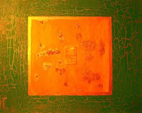 copper red color