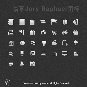 copying jory raphael icon psd layered