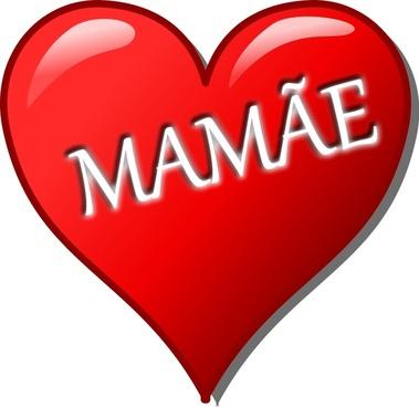 Coração para o Dia das Mães