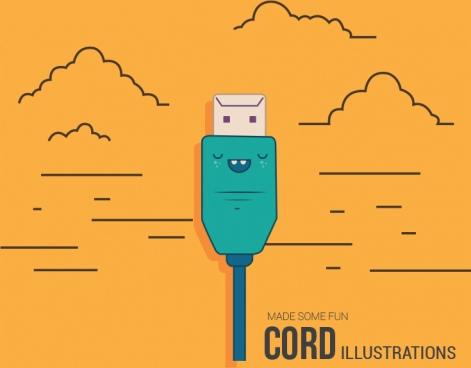 cord illustration fully illustration file
