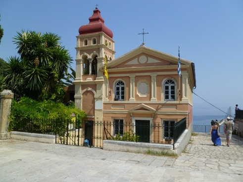 corfu corfu city corfu town