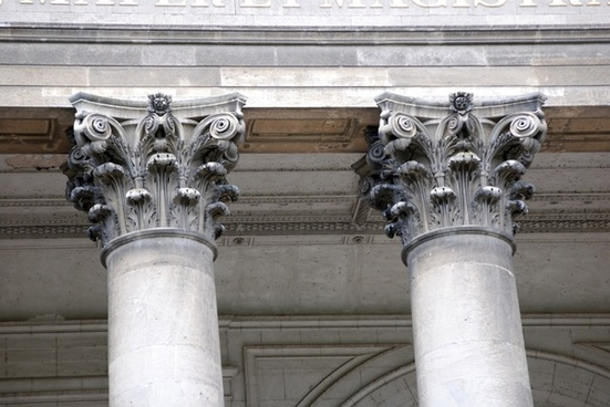 corinthian column heads
