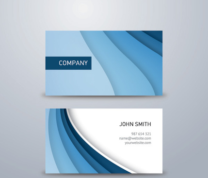 Blue business card background free vector download 64064 free corporate blue business card vector graphic colourmoves