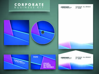 corporate business kit set