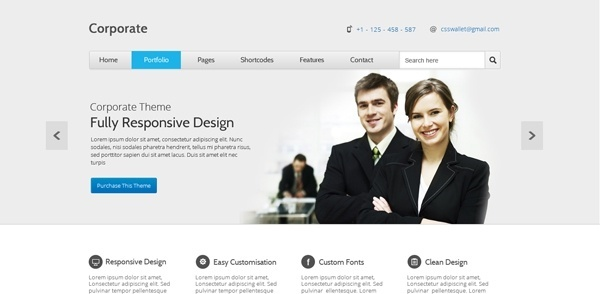 corporate creative template