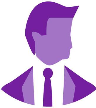 corporate head icon