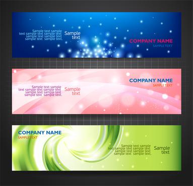 corporate identity design on dazzling background