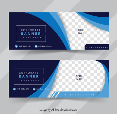 corporate poster templates elegant swirled checkered decor
