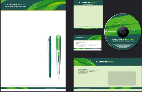 corporate style cover design elements vector set