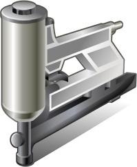 corrugated fastening tool