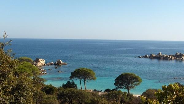corsica beach sea