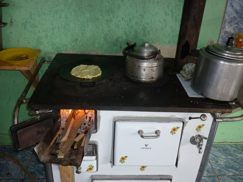 costa rican traditional stove